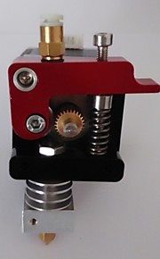 XC3DMAKER 3d Printer Mk9 E3d V6/Lite6 Single Nozzle Attachment 0.4mm/1.75mm Filament Multi Function Extruder Heating