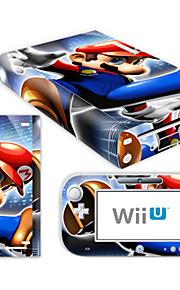 B-Skin® della decalcomania della pelle (rivestimento lucido) per Nintendo Wii console u + dispositivo di controllo (modello assortiti)