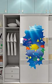 Animaux / Botanique / Mots& Citations / Romance / Nature morte / Mode / Floral / Fantaisie / 3D Stickers muraux Stickers muraux 3D , PVC