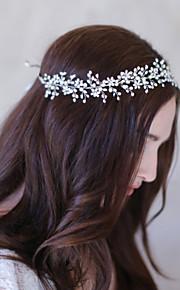 Celada Bandas de cabeza Boda / Ocasión especial Perla / Rhinestone Mujer Boda / Ocasión especial 1 Pieza