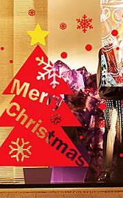 Christmas Window Sticker Contemporary , Art Deco 150cm*100cm