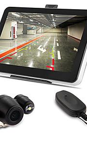 """auto 7 """"gps bluetooth AV-IN 128mb 4gb + mappa macchina fotografica d'inversione senza fili +"""