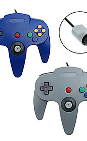 # - N64 - Empuñadura de Juego - Metal / ABS - PS/2 - Controles