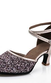 Zapatos de baile ( Negro / Azul / Plata ) - Moderno - Personalizados - Tacón Personalizado