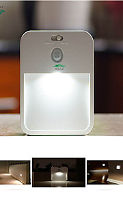 zweihnder @ 1pcs conduit l'induction de l'organisme de contrôle de la batterie veilleuse lampe de lumière veilleuse lumière créatrice