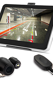 7 auto navigazione gps AV-IN Bluetooth 4gb + mappa macchina fotografica d'inversione senza fili +