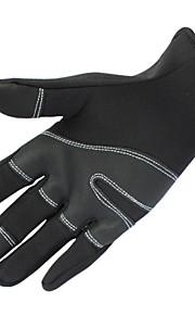 Guantes Ciclismo / Bicicleta Mujer / Hombres Dedos completosA prueba de resbalones / Mantiene abrigado / A prueba de viento / Reduce la
