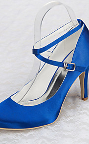 Chaussures de mariage - Bleu - Mariage / Bureau & Travail / Habillé / Soirée & Evénement - Talons / A Plateau - Talons - Homme