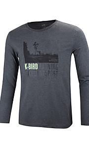 GRN® Men's Long Sleeve T-Shirt , Cotton Casual Print