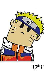 funny Uzumaki Naruto bil mærkat bilrude Vægoverføringsbillede bil styling