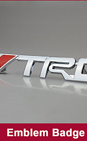 TRD chroom racing embleem kofferbak badge 3d metal sticker sticker