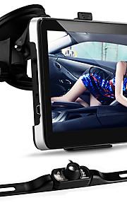 """auto 7 """"gps bluetooth di navigazione 4GB + 7 LED IR visione notturna telecamera per la retromarcia"""