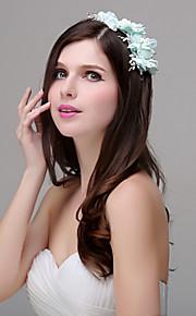 Blommor Headpiece Dam Bröllop / Speciellt Tillfälle / Casual / Utomhus Polyester / Akryl / PlastBröllop / Speciellt Tillfälle / Casual /