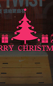 Christmas Window Sticker Contemporary , Art Deco 106cm*60cm