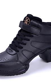 Sapatos de Dança(Preto) -Feminino-Personalizável-Tênis de Dança