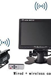 """Compatibel met alle automerken - 1/4"""" CCD-sensor - 170 ° - 480 TV-lijnen - 656X 492 - Achteruitrijcamera"""