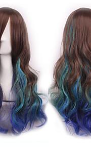 cos peruukki tumma kolme väri kaltevuus japani alkuperäinen sufeng tukka peruukki