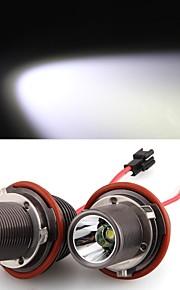 2 * h8 10w ha condotto la luce bianca cree occhio di angelo per BMW E39 E53 E65 E66 E60 E61 E63 E64