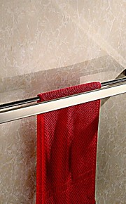 Contemporary Mirror Polished Finish Stainless Steel Material Towel Bar ,Bathroom Accessory