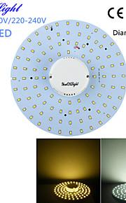 20W Plafondlampen 100 SMD 2835 1800 lm Warm wit / Koel wit Decoratief AC 220-240 / AC 110-130 V 1 stuks