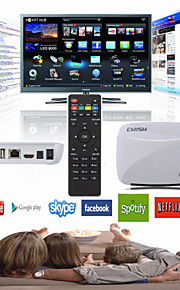 emish X700 quad core android 4.4 Smart TV box XBMC wifi 1080p HD mini pc 8GB