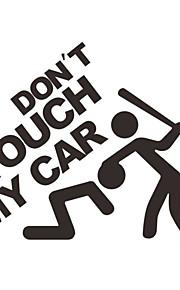 autooverdrukplaatjes sticker waterbestendig verwijderbare paster voor in de auto