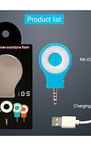 RK07 Neight Using Selfie Enhancing Flash Light(Assorted Color)