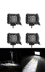 4x 30W OSRAM LED Work Light Bar Offroad 12V 24V ATV Flood Offroad for  Truck 4x4 UTV