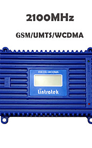 Lintratek® LCD Display 3G Signal Repeater W-CDMA 2100 UMTS Mobile Phone Signal Booster Amplifier