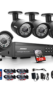 annke 16ch hd 1080p dvr hdmi 4 outdoor ir home video bewakingscamera 2tb