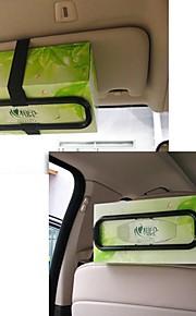 ziqiao mode bil visir silkepapir plastboks holder til bagsædet