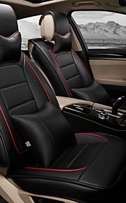 un nuevo lleno amortiguador de la cubierta de asiento de coche del cuero para automóviles protección interior del asiento de coche