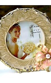 Cadre photo ( Or , Moins de 10 ) - Thème floral / Thème classique