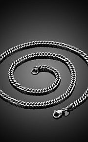 Personality in Europe and America to Restore Ancient Ways Exaggerated Titanium Steel Necklaces