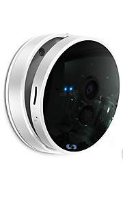 Dag Nacht/Bewegingsdetectie/Dual Stream/Remote Access/IR-cut/Wifi Protected Setup/Plug and play - Binnen Mini - IP Camera