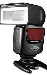 sidande df-400 flitser Speedlite flitser pistool voor canon nikon pentax olympus fuji panasonic digitale SLR camera als YN460