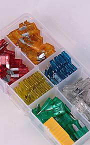 iztoss 120pcs mini gesorteerde set kit blade zekering auto auto motorfiets boot