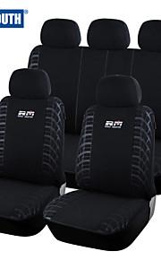 autoyouth 2016 funda de asiento de coche nuevo estilo de bucle ajuste universal de la tela cubre la mayoría de los vehículos asiento