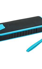 draagbare waterdichte draadloze bluetooth speaker met 4000mAh Power Bank hifi draagbare luidsprekers klankkast met led licht