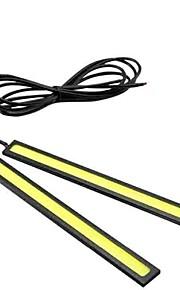 2 bars 12v 60W Epistar cob geleid auto geleid mistlamp bar universele auto LED DRL auto leidde knipperlicht