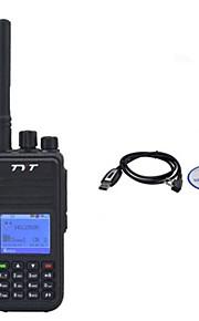TYT md380 draagbare DMR digitale vhf136-174mhz walkie talkie + usb-kabel programmering