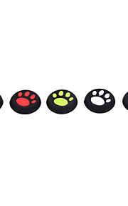 10stk / lot kattens pote silikone cap joystick greb til PS4 ps3 xbox 360 xbox én controller