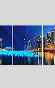 Landschaft / Modern Leinwand drucken Drei Paneele Fertig zum Aufhängen,Quadratisch