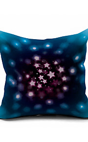 2016 New Arrival Galaxy Cotton/Linen Pillow Cover , Nature Modern/Contemporary  Pillow Linen Cushion