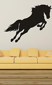 Dyr / Romantik / Fashion / abstrakt / fantasi Wall Stickers Fly vægklistermærker,PVC M:42*55cm / L:55*71cm