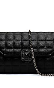 Черный-Сумка на плечо / Сумка-шоппер-Для женщин-Яловка-Сумочка Багет