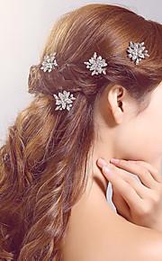 Epingle à Cheveux Casque Mariage / Occasion spéciale / Casual / Outdoor Strass / Alliage Femme / Jeune bouquetièreMariage / Occasion