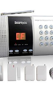 hjem alarm panel trådløst med 68 sone + intelligent ringeklokke funksjon