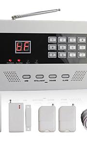 trådløs automatisk oppringing hjem sikkerhet alarm system med 99 soner PSTN