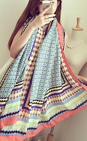 Damen Vintage / Niedlich / Freizeit Baumwolle Schal